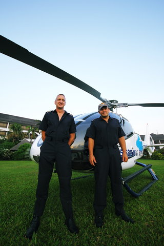 Sea Cliff Hotel - Whirlwinds Helicopter   Pilots