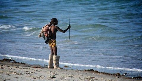 Sea Cliff Hotel - Boy Fishing On South Beach