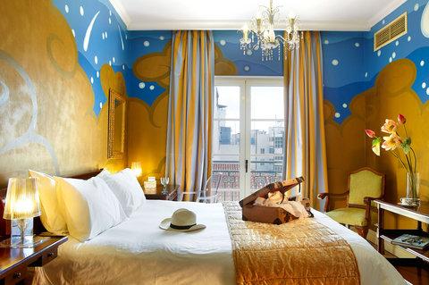 古典宝贝大酒店 - Graffiti Guestroom Room Main