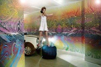 古典宝贝大酒店 - Reception  Girl On The Car