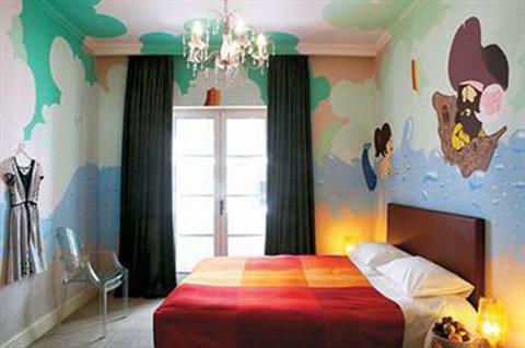 古典宝贝大酒店 - Standard Graffiti Room