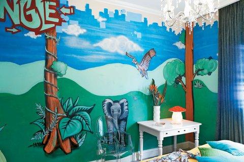 古典宝贝大酒店 - Standar Graffiti Room