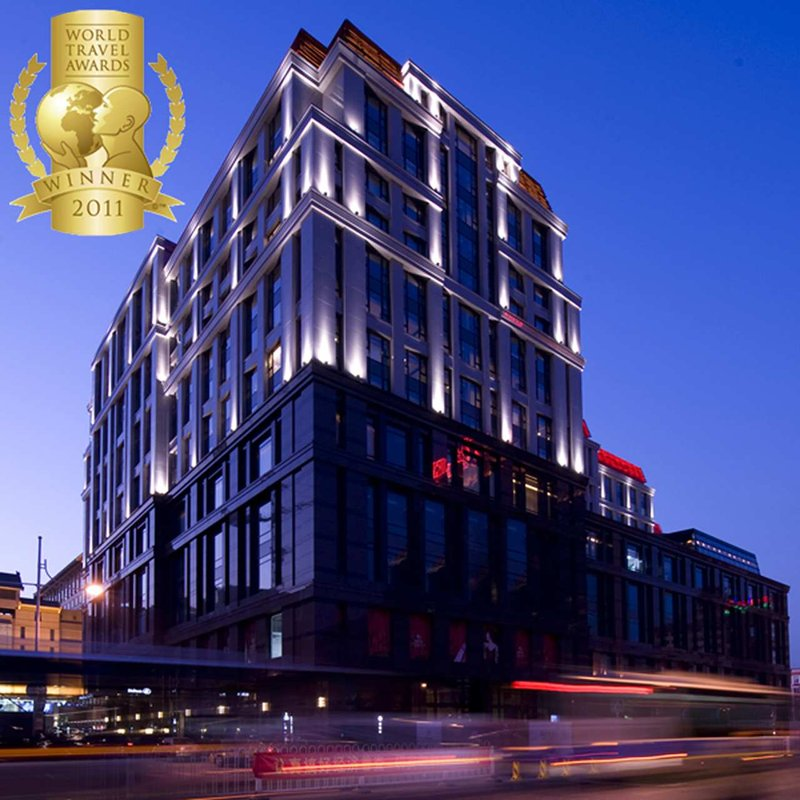 Hilton Beijing Wangfujing Ulkonäkymä
