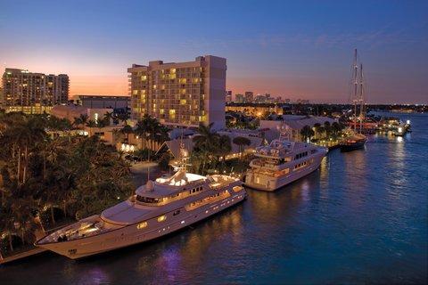 هيلتون فورت لودرديل مارينا - Uncover a chic waterfront setting