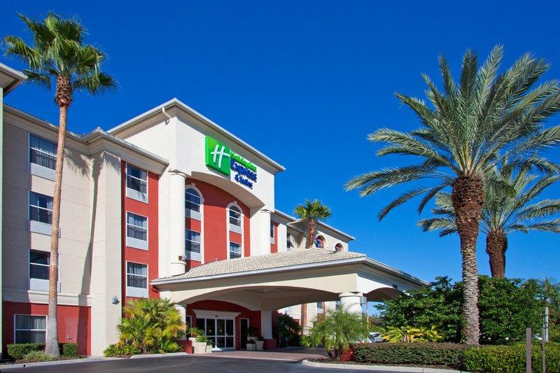 Holiday Inn Express Hotel & Suites Orlando International Airport Kilátás a szabadba