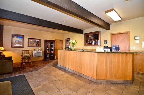 BEST WESTERN PLUS Rio Grande Inn - Reception Desk