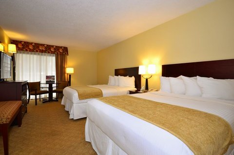 Best Western Oak Manor Hotel - Double Queen Guest Room