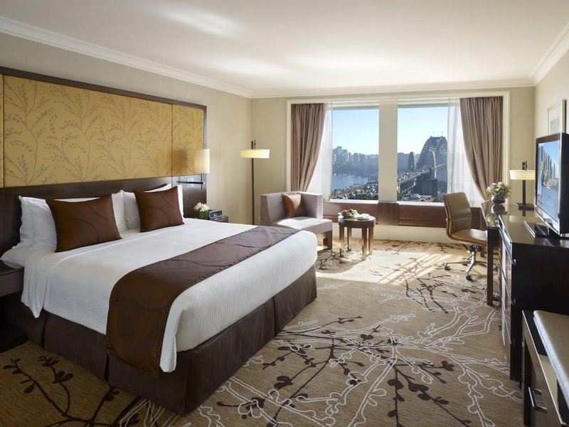 Shangri La Hotel Sydney Huonenäkymä