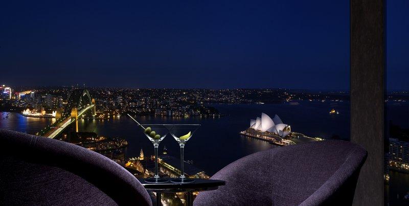 Shangri La Hotel Sydney Baari/lounge