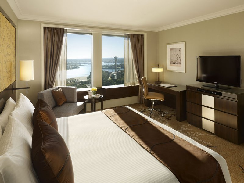Shangri La Hotel Sydney Zimmeransicht