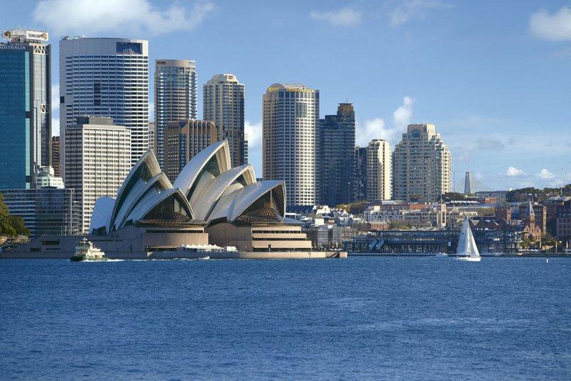 Shangri La Hotel Sydney Außenansicht