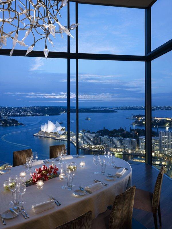 Shangri La Hotel Sydney Gastronomie