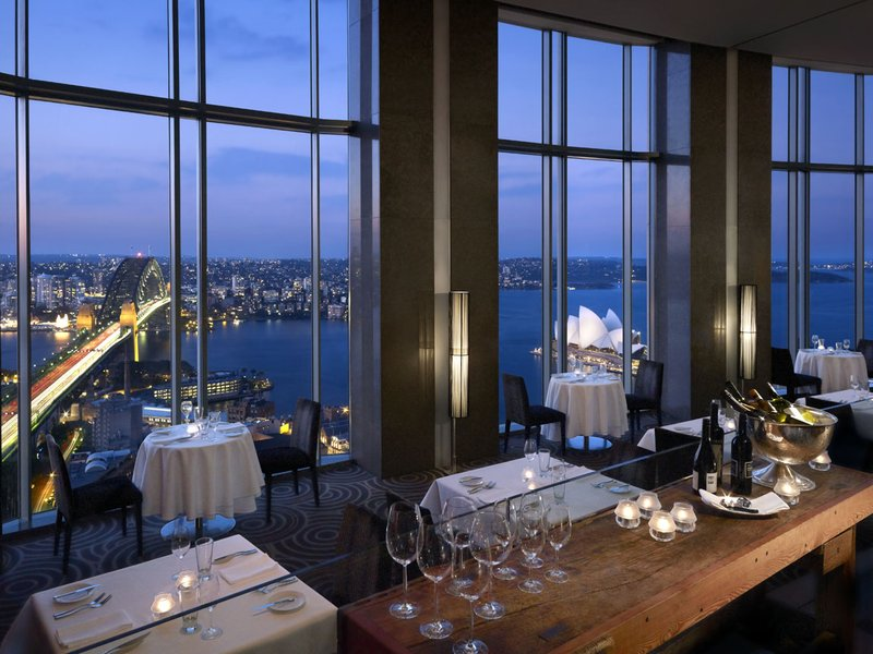 Shangri La Hotel Sydney Ravintolat