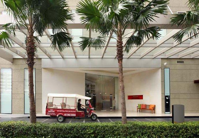 Sukhumvit Park, Bangkok - Marriott Executive Apartments Außenansicht