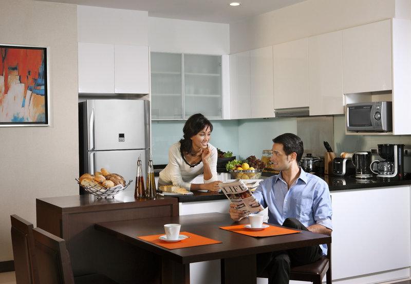 Sukhumvit Park, Bangkok - Marriott Executive Apartments Zimmeransicht