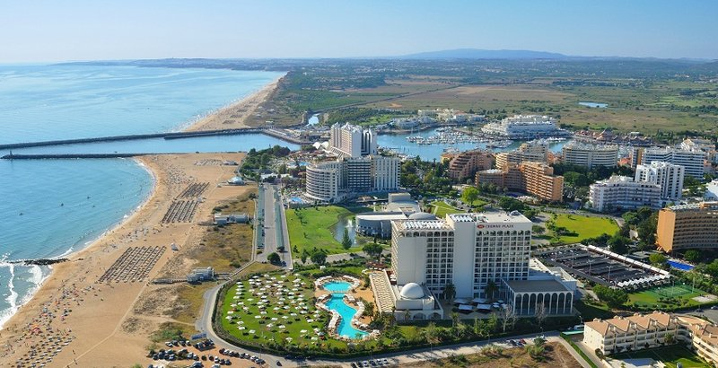 Crowne Plaza Hotel Vilamoura Algarve Vista exterior