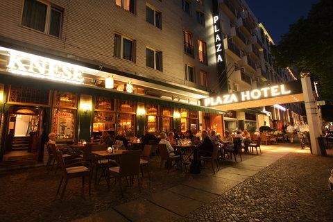 Berlin Plaza Hotel am Kurfurstendamm - Berlin Plaza am Kurfuerstendamm Summer Terrace at