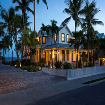 La Mer Hotel & Dewey House - Night Shot La Mer