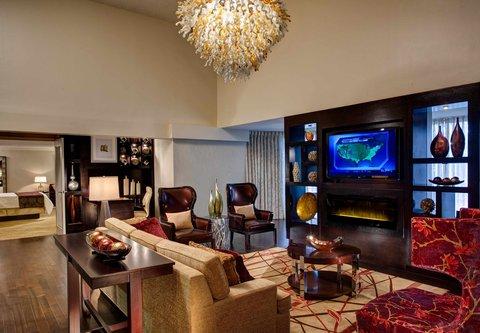 Westin City Center - Presidential Suite Living Room