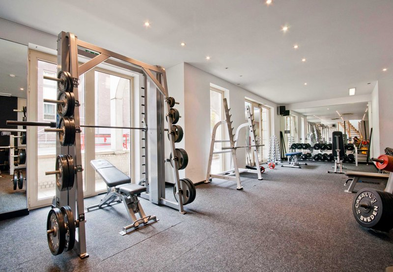 Marriott Executive Apartments Brüssel Fitness Club