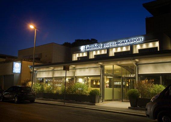 Comfort Hotel Roma Airport Fiumicino Exterior view