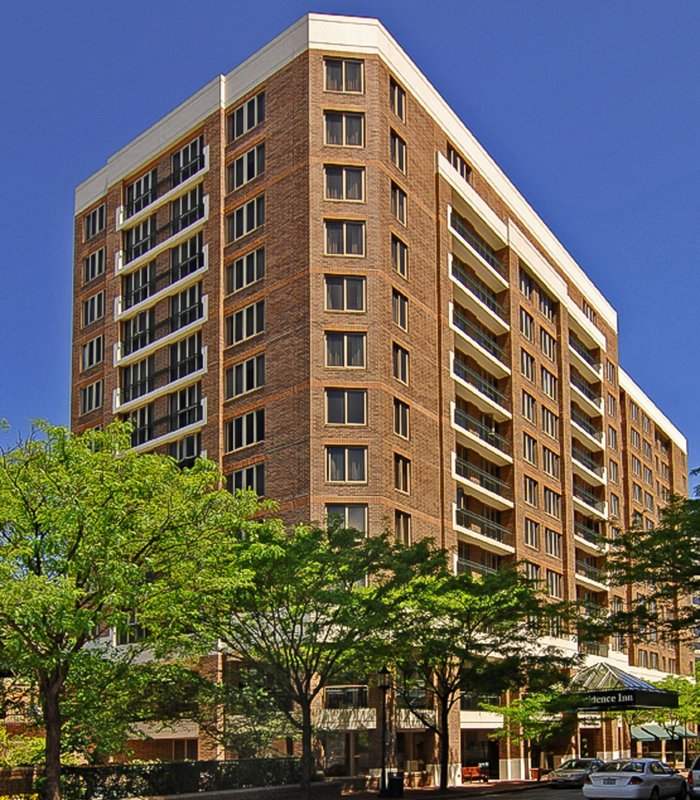 Marriott Residence Inn Floor Plans: Residence Inn By Marriott Bethesda Downtown