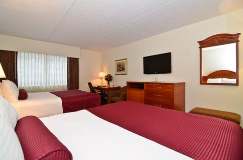 BEST WESTERN PLUS Longbranch Hotel & Convention Center - Poolview double queen room