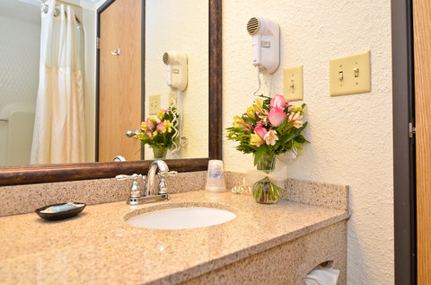 BEST WESTERN PLUS Longbranch Hotel & Convention Center - Standard and Poolview Guest Room Bathroom