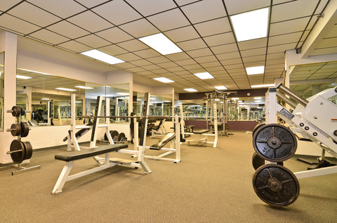 BEST WESTERN PLUS Longbranch Hotel & Convention Center - Gold Pointe Fitness Club Weight Room
