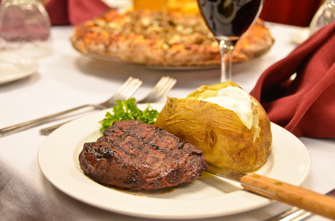 BEST WESTERN PLUS Longbranch Hotel & Convention Center - Hand cut steaks and Homemade pizza