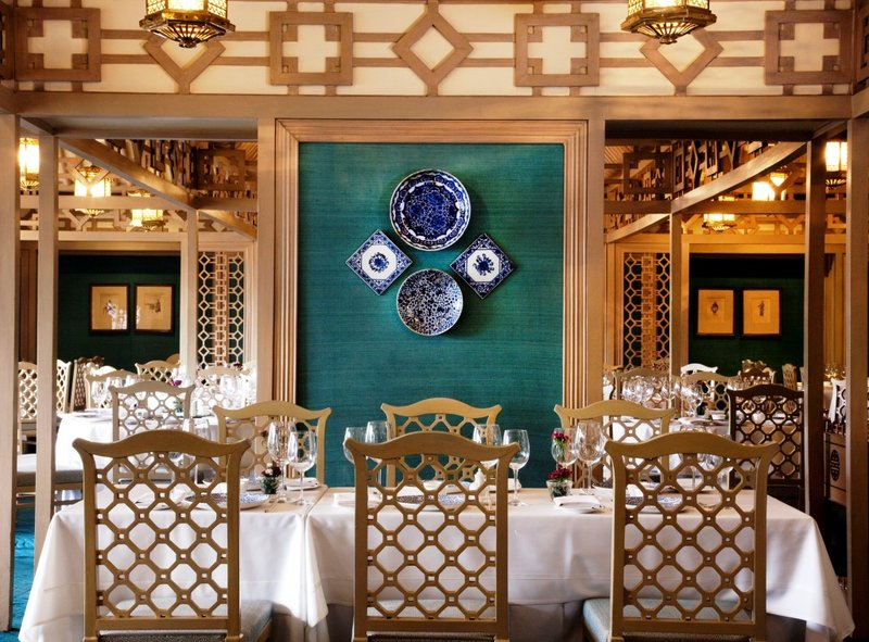 The Taj Mahal Hotel New Delhi Gastronomia