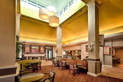 Hilton Garden Inn Chattanooga Hamilton Place - It s Your Lobby  Not Ours