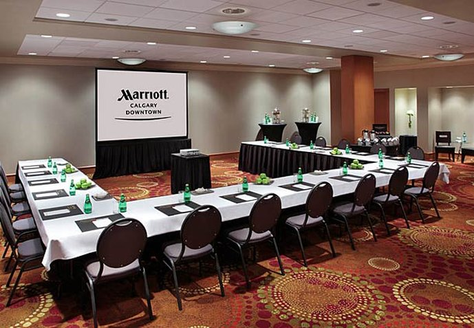 Calgary Marriott Downtown Hotel Konferenciaterem