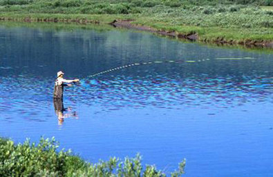 Best Western Dunmar Inn - Fishing in the Uinta Mountains