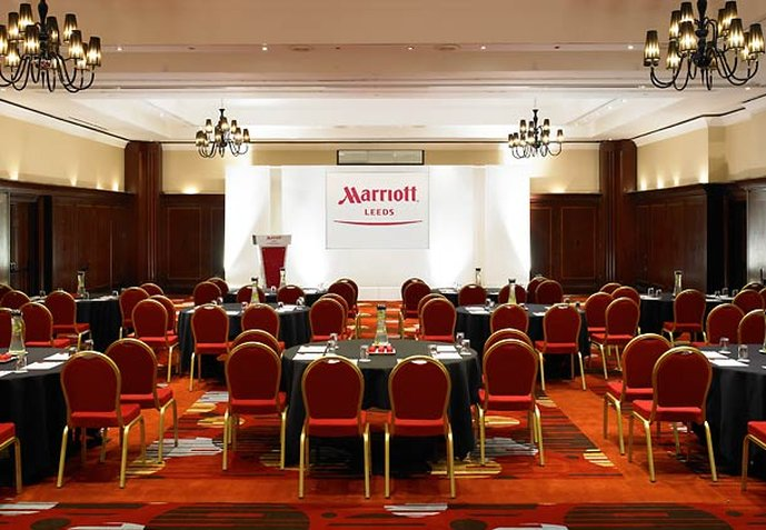 Marriott Leeds Hotel Bár/lounge