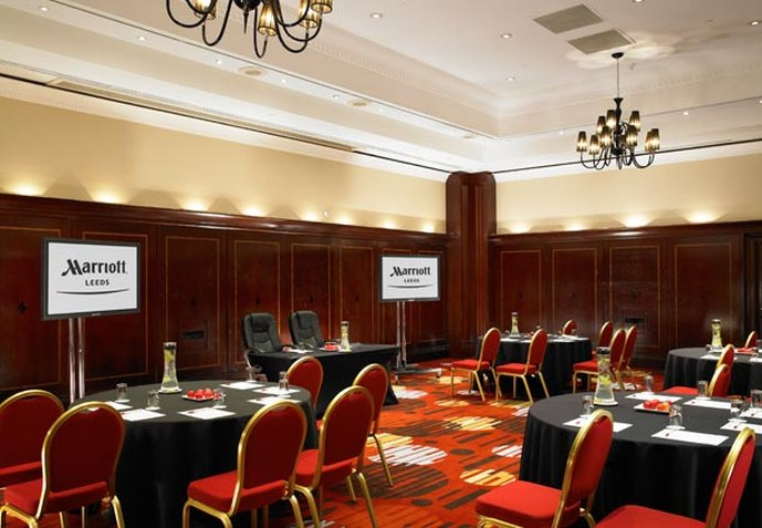 Marriott Leeds Hotel Bar/lounge