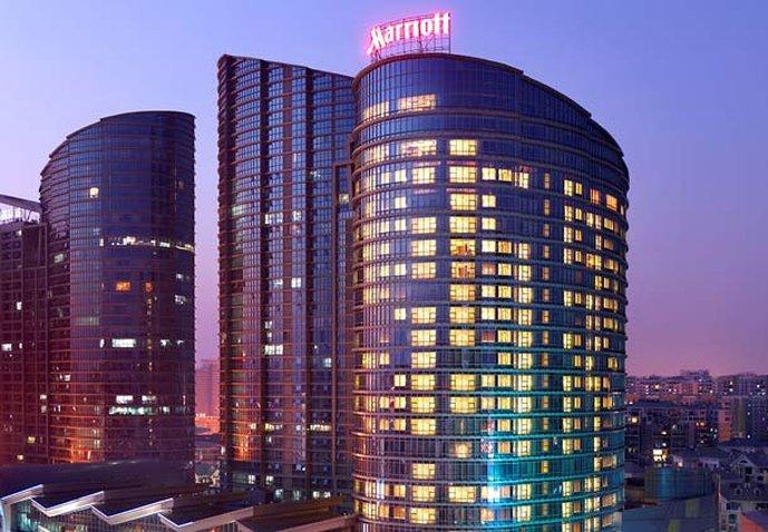 Nanning Marriott Hotel Buitenaanzicht