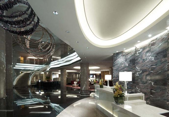Shanghai Marriott Hotel Luwan Lobby