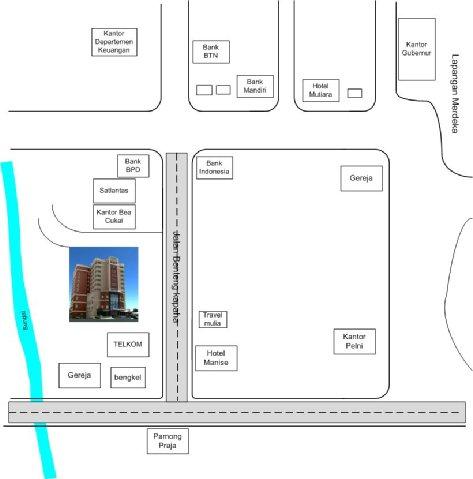 Swiss-Belhotel Ambon - Location Map