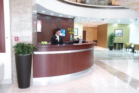 Swiss-Belhotel Doha - Reception Area
