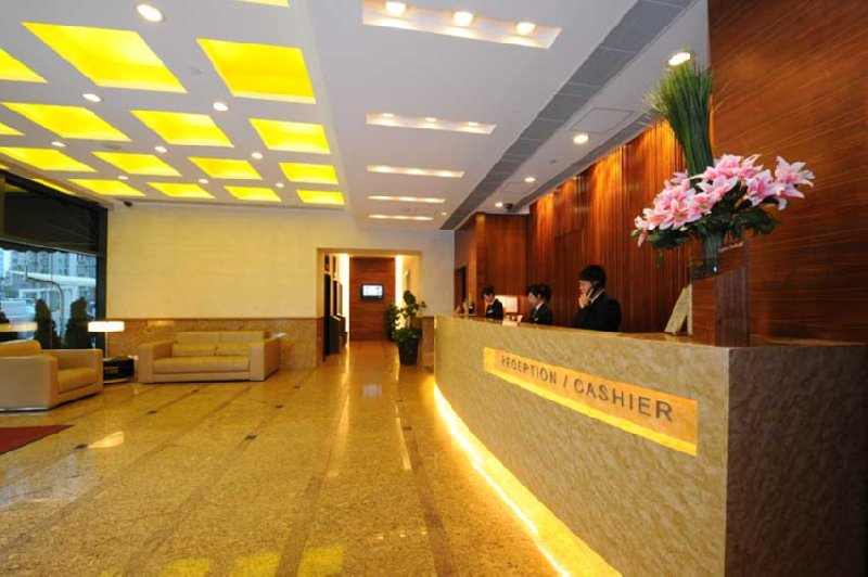 Hotel Bishop Lei International House Lobby