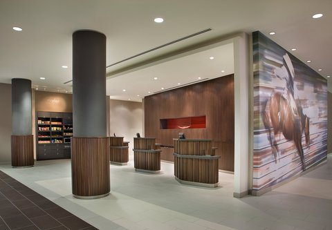 Courtyard By Marriott Calgary Airport Hotel - Welcome Pedestals