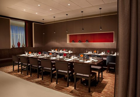 Courtyard By Marriott Calgary Airport Hotel - Semi-Private Dining Area