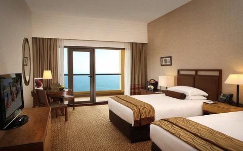 Amwaj Rotana - Amwaj Rotana Club Sea View Twin Bed Room