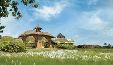 Vedic Village Spa Resort - Grand Entrance