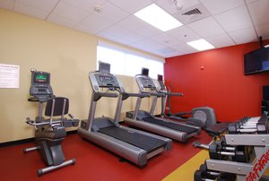 Fitness/ Exercise Room - Courtyard by Marriott Hotel Downtown Boise