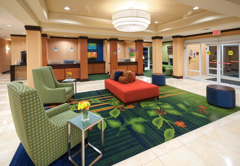 Fairfield Inn & Suites Tallahassee Central Lobby