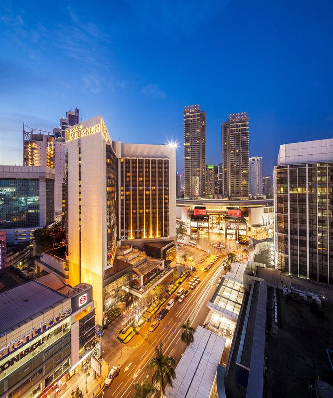 Grand Millennium Kuala Lumpur 外景
