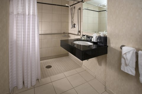 Embassy Suites Chicago DowntownLakefront - Roll-In Shower