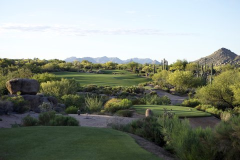 Boulders Resort & Golden Door Spa - New Golf tee fairway